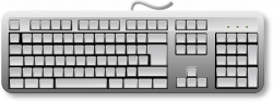 28+ Collection of Blank Computer Keyboard Clipart | High quality ...