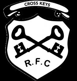 Cross Keys RFC Rugby Logo transparent PNG - StickPNG