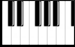 Free Piano Keyboard, Download Free Clip Art, Free Clip Art ...