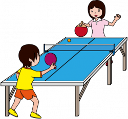 28+ Collection of Playing Table Tennis Clipart | High quality, free ...