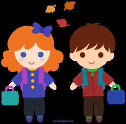 Back to School Kids Clipart - Sweet Clip Art