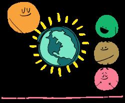 about — kindness.org   illustration / web graphics   Pinterest