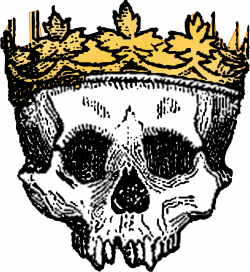 Clipart - King of the dead colored