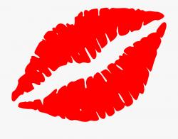 Kiss Clipart Black And White - Lip Kiss Clip Art #71282 ...