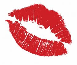 Transparent Kiss Lips - Lipstick Stain Clipart, Transparent ...