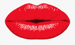 Lip Can Stock Photo Mouth Drawing Kiss - Red Lips Clip Art ...