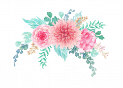 0_13f695_489c4f9d_orig.png | Floral border, Watercolor print and ...