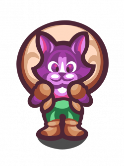 Neko Cat Secret of Mana by likelikes on DeviantArt