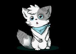 Chibi Fluffy Kitten by Purrlstar on DeviantArt