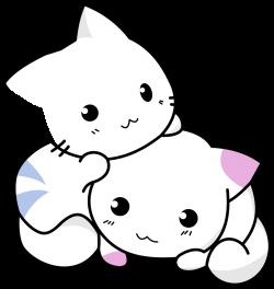 OnlineLabels Clip Art - Cute Kittens Playing