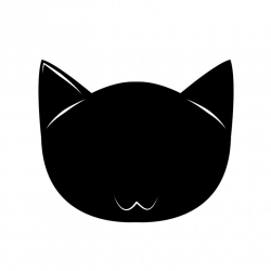Cat Face Silhouette (32+) Cat Face Silhouette Backgrounds