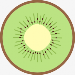A Sliced kiwi, Kiwi, Fruit, Sliced Clipart PNG Image and Clipart ...