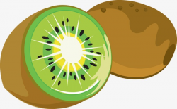 Cartoon Kiwi, Kiwi, Green Fruit, Green PNG Image and Clipart for ...