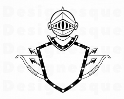 Knight Armor SVG, Shield Svg, Knight Svg, Arrows Svg, Knight Clipart,  Knight Files for Cricut, Knight Cut Files For Silhouette, Dxf, Png Eps