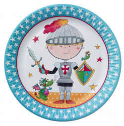 Brave Knight Party Plates | Just For Kids