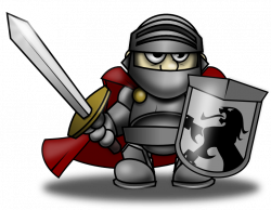 Knight clipart caballero ~ Frames ~ Illustrations ~ HD images ...