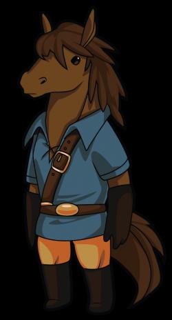 Image - Horse Adventurer Art.png   Shovel Knight Wiki   FANDOM ...