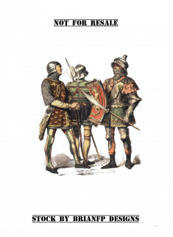 Medieval Knight group set.png. precut by BrianFP on DeviantArt