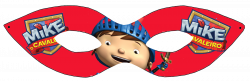 Mike Knight in Red Free Printable Mask. | Màscaras Infantiles ...