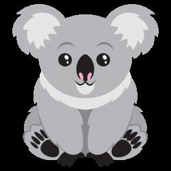 Cute Koala Bear Clipart