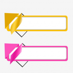 Vector Text Box Banner Design, Box Clipart, Text Box ...