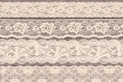 Ivory Lace Clipart Borders ~ Graphics ~ Creative Market