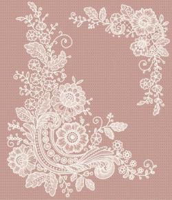 White Lace Clip Art Free | corner lace clip art vector art 165798017 ...