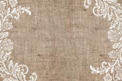 Burlap Lace Background Big | Nest Furniture & Design | 50th ...