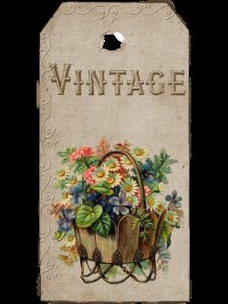 Vintage Burlap Lace and Lavender: Free Vintage Spring Floral Hang ...