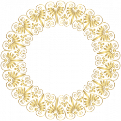 Gold Border Frame PNG Clip Art | Boder craft | Pinterest | Clip art ...