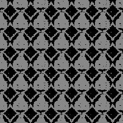 Digital Stamp Design: Black Lace Damask Scrapbooking Paper Digital ...