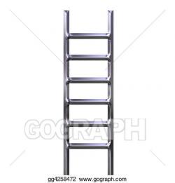 Stock Illustration - Ladder. Clipart gg4258472 - GoGraph