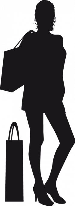 Shopper Silhouette at GetDrawings.com | Free for personal use ...