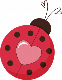 Pin by Peggie Barker on ladybugs | Pinterest | Ladybird, Heart ...