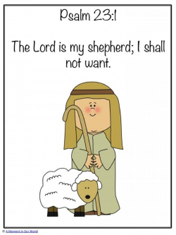 Monday Memory Verse: Psalm 23:1   scriptures - with ...