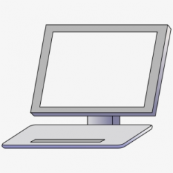 Jpg Stock Laptop Clipart Front - Computer Monitor ...