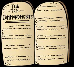 Lds Commandments Clipart (46+)