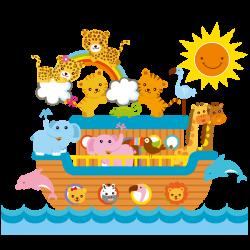Noah's Ark - Cartoon Animal's Homepage