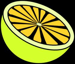 Cut Lemon Clip Art at Clker.com - vector clip art online, royalty ...