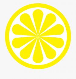 Lemon-slice - Circle , Transparent Cartoon, Free Cliparts ...
