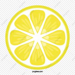 Lemon Slices, Lemon Clipart, Cartoon, Hand Painted PNG ...