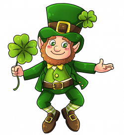 This cute and adorable leprechaun clip art is great for use on your ...