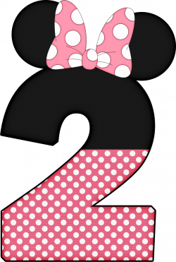 ✿⁀Numbers‿✿⁀ | Numbers | Pinterest | Minnie mouse, Mice and Birthdays