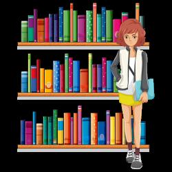 Library Librarian Clip art - Cartoon books 1000*1000 transprent Png ...