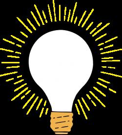 Clear Lightbulb Clip Art at Clker.com - vector clip art online ...