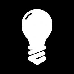 Idea Light Bulb Clip Art Black And White | Clipart Panda - Free ...