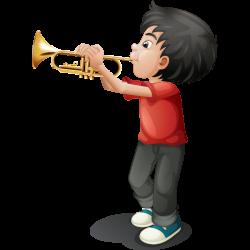 Musical instrument Musician Clip art - Cute cartoon children play ...