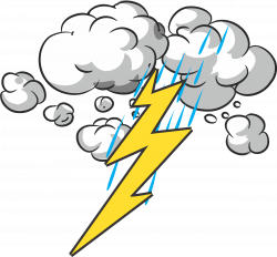 28+ Collection of Lightning And Thunder Clipart | High quality, free ...