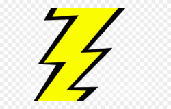 Lightning Clipart Lightening Bolt - Lightning Bolt Graphic ...