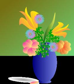 Bouquet Of Flowers Clip Art at Clker.com - vector clip art online ...